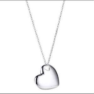 Tiffany & Co. Heart Cutout Necklace